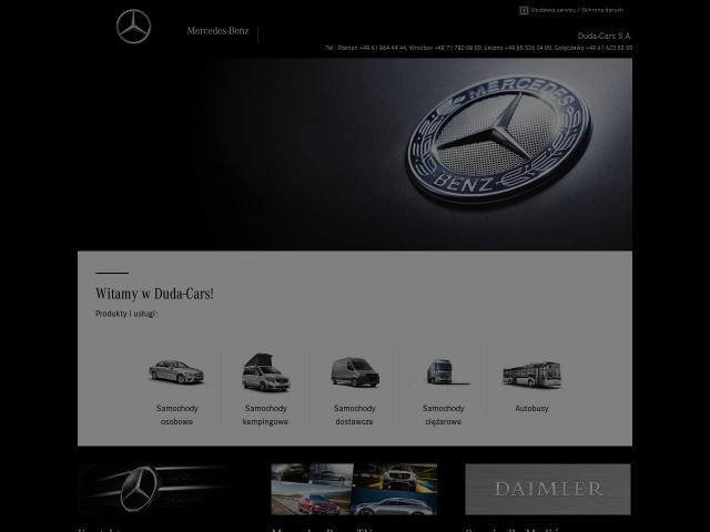 Mercedes-Benz | Duda-Cars S.A.